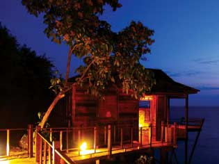 The exclusive paradise on earth Japa Mala Resort.